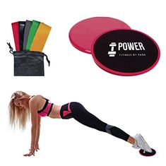 Fitness Equipments Sports & Entertainment 1pack Exercise Sliders Fitness Sliders Core Ultimate Core Trainer Gliding Discs Body Workout Equipment blue