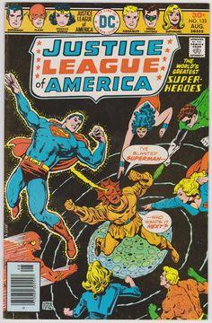 Justice League of America DC Comics #133 Vol1 FN/VF 7.0