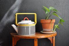 Vintage 80s Memphis Style Kajta Teapot Retro by drowsySwords, $65.00