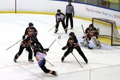 U19 Action Shots from 2012 Ontario Ringette Provincials