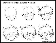 How to Draw Chibi Werewolf by charfade on DeviantArt