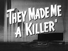 Film-Noir Crime, Drama, Movie - They Made Me A Killer noir Amane Misa, We Heart It, Black And White Aesthetic, Retro Aesthetic, Aesthetic Women, Aesthetic Pastel, Aesthetic Photo, Aesthetic Fashion, Vintage Horror
