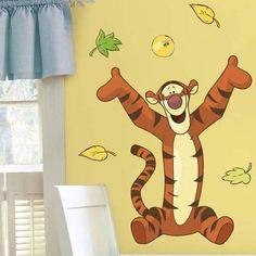 Amazon.com: Disney Peekaboo Pooh Wall Decals: Baby | Winnie the Pooh ...