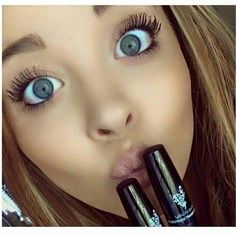 Younique's mascara - no falsies - no glue! It's quick and easy to apply, goes on just like mascara! www.OpLashBlast.com