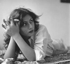Rare Black & White photo of Bollywood actress Madhubala - http://www.flickr.com/photos/pimu/5957789435/in/photostream/ - ♥ Rhea Khan