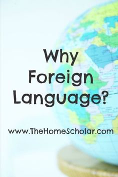How important is foreign language in your homeschool?