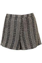 Pearl Embellished Shorts