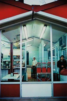 William Eggleston: Untitled (Café Exterior), 1970-1974