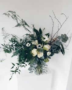 18 best Winter flowers images on Pinterest   Winter floral      greenupyourgaff  graceandthorn      Winter bouquetWinter flowersWinter