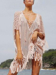 1fcda317a76c 7 Best dresses gause images | Beachwear fashion, White dress ...
