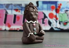 Gingerbread Man Yoga by Karly West, via Flickr