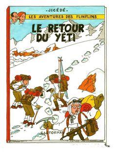 Les Aventures de Tintin - Album Imaginaire - Le Retour du Yéti