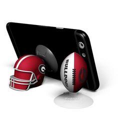 Mizco University of Georgia Football/Helmet Suckerz Set (Red, Size ) - NCAA Licensed Product, NCAA Novelty at Academy Sports