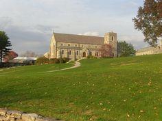 the chapel at Canterbury School, CT