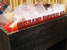 Time2Partay.blogspot.com: The Husband Survival Kit