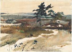 Andrew Wyeth  Brandywine Valley, 1940