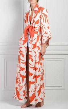 M'O Exclusive Miramar Printed Kimono by Johanna Ortiz Look Fashion, Fashion Outfits, Fashion Design, Fashion Trends, Steampunk Fashion, Gothic Fashion, Older Women Fashion, Womens Fashion, Mode Kimono