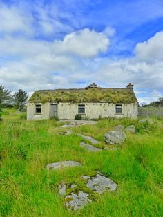 abandoned cottage in County Donegal near our http://www.underthethatch.co.uk/eile