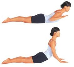 three yoga poses for lordosis
