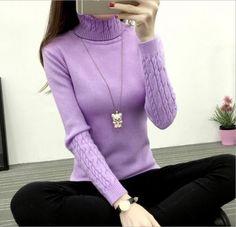 2017 New Winter Women Turtleneck Sweater