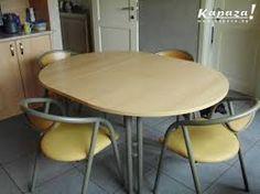 Afbeeldingsresultaat voor keukentafel hout