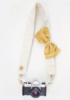 Petite Cherie Camera Strap By Bloom Theory   Modern Vintage Home & Office