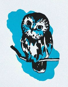 blue owl (illustrator unknown)
