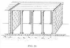 vista de uma forma preparada para receber uma laje de concreto batido