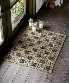 Free pattern  Ravelry: Veil Linen Motif Mat pattern by Pierrot (Gosyo Co., Ltd)