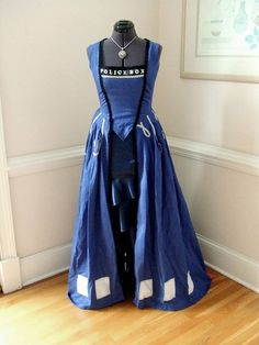 This TARDIS Dress Redefines Time as we know it. Description from pinterest.com. I searched for this on bing.com/images