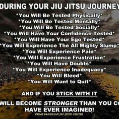 The Jiu-Jitsu Journey - Bjj mmania Japanese Jiu Jitsu, Jiu Jitsu Quotes, Bjj Memes, Jiu Jitsu Techniques, Mma Gear, Ju Jitsu, Therapy Quotes, Self Defense Techniques, Brazilian Jiu Jitsu