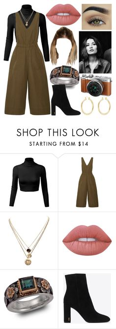 """""""straight to the point"""" by nothing-better-than-a-riddle on Polyvore featuring Ulla Johnson, LowLuv, Lime Crime, Emma Chapman, Yves Saint Laurent, Fujifilm and Isabel Marant"""