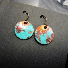 Image of Copper Blueberry Earrings  by artist Nicholas Galanin found at  Beyond Bucksin Boutique
