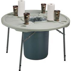 Folding Table for Crawfish Boils