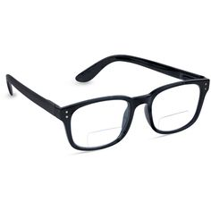 PeeperSpecs Black Dapper Bifocal Readers (142.815 IDR) ❤ liked on Polyvore featuring accessories, eyewear, eyeglasses, black eyewear, lens glasses, black eyeglasses, black eye glasses and lightweight eyeglasses