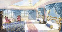 【ディズニー】TDLホテルに『アナ雪』ルーム登場! 『シンデレラ』や『アリス』版もお披露目 5 枚目の写真 | シネマカフェ cinemacafe.net