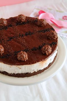 Ferrero Rocher, Oreo and Nutella Cheesecake