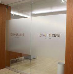 Nyc Etched Glass Frosted Vinyl Glass Office Doors Entrance Door Design Office Door