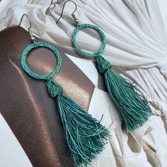 Tassel Necklace, Etsy, Drop Earrings, Jewelry, Fashion, Schmuck, Woman, Moda, Jewels