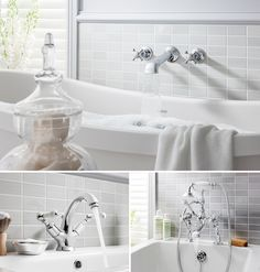 If you're working out how to achieve your dream traditional bathroom, it's all about the fittings, accessories and finer details. Bathroom Inspiration, Bathroom Ideas, Downstairs Loo, Traditional Bathroom, Bathtub, Luxury Bathrooms, Design, Standing Bath, Downstairs Toilet