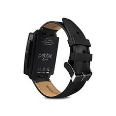 Pebble Steel SmartWatch for iOS and Android Devices, Black Matte