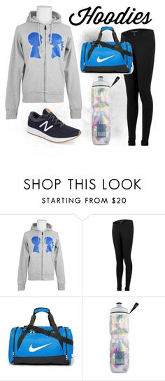 """""""Hoodies """" by boymeetsgirlusa ❤ liked on Polyvore featuring Boy Meets Girl, Isabella Oliver, NIKE, Victoria's Secret, New Balance, women's clothing, women, female, woman and misses"""