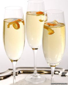 Try this simple champagne cocktail for a delicious drink perfect for special occasions.     Also try:  Cranberry Sparkler