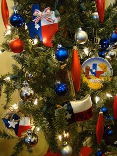 Texas Christmas Tree  If you like our pins, you'll probably like our blog too - www.texastravelblog.us