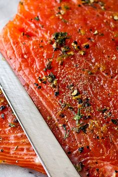 NYT Cooking: Use king or sockeye salmon from a good source. In either case, the fish must be spanking fresh. Gravlax keeps for a week after curing