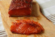Pastrami Salmon Gravlax.