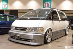 Cool White Toyota