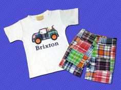 Hey, I found this really awesome Etsy listing at http://www.etsy.com/listing/180038813/boys-easter-truck-shirt-with