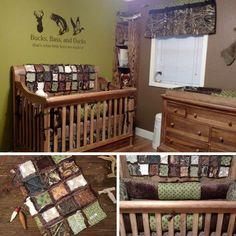 Camo baby boy room