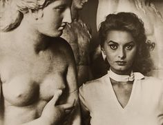 wehadfacesthen Sophia Loren, Rome, photo by George Daniell Source: wehadfacesthen sophia loren rome roma italy italia Sophia Loren, Marlene Dietrich, Brigitte Bardot, Classic Hollywood, Old Hollywood, Interview, Greta, New Museum, Italian Beauty